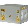 Ящик с понижающим трансформатором ЯТП 0.25 220/12В (2 авт. выкл.) IEK MTT12-012-0250