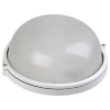 Светильник НПП 1101 100Вт E27 IP54 бел. круг IEK LNPP0-1101-1-100-K01