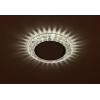 Светильник DK LD24 SL/WH GX53 точечный; декор со светодиодной подсветкой прозр. ЭРА Б0029631