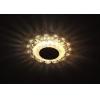 Светильник DK LD17 SL PK/WH MR16 точечный; декор со светодиодной подсветкой прозр. роз. ЭРА Б0028078