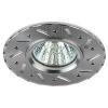 Светильник KL41 SL 1х50Вт GU5.3 IP20 MR16 12В/220В d95мм точечный литой поворот. алюм. серебр. ЭРА Б0003849