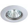 Светильник ST3 WH 50Вт MR16 12В точечный штампован. бел. ЭРА C0043801