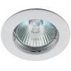 Светильник KL1 WH 50Вт MR16 12В точечный литой бел. ЭРА C0043653