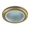 Светильник WR1 GD 50Вт IP44 MR16 12В точечный влагозащ. зол. ЭРА C0043846