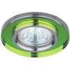 Светильник DK7 CH/MIX 50Вт MR16 12В точечный; декор стекло круглое хром./мультиколор ЭРА C0043737