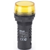 Лампа коммутац. ADDS 22мм LED 220В AC/DC ЛK-22 желт. SchE 25120DEK