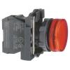 Лампа сигнальная 22мм 230-240В красн. SchE XB5AVM4