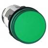 Лампа сигнальная 22мм 24В LED зел. SchE XB7EV03BP