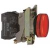 Лампа сигнальная 22мм 230-240В красн. SchE XB4BVM4