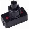 Выключатель-кнопка 250В 1А (2с) ON-OFF (PBS-17A2) (для настольной лампы) черн. Rexant 36-3011