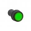 Кнопка SW2C-10D с подсветкой зел. NO EKF sw2c-md-g