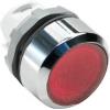 Кнопка MP1-21R без фикс. с инд. кр. ABB 1SFA611100R2101