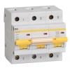 Выключатель автоматический модульный 3п C 20А 10кА ВА47-100 IEK MVA40-3-020-C