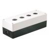 Корпус КП 104 4-м бел. для кнопок IEK BKP10-4-K01