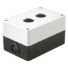 Корпус КП 102 2-м бел. для кнопок IEK BKP10-2-K01