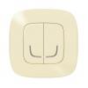 Выключатель умный беспроводной 2-кл. Valena Allure сл. кость Netatmo 752687