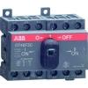 Рубильник реверсивный OT40F3C 40А (23А AC23) ABB 1SCA104913R1001