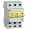 Выключатель-разъединитель трехпозиционный 3п ВРТ-63 63А IEK MPR10-3-063