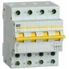 Выключатель-разъединитель трехпозиционный 4п ВРТ-63 63А IEK MPR10-4-063