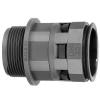 Переходник труба-коробка DN 23мм М25х1.5 полиамид черн. IP66 DKC PAM23M25N
