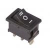 Выключатель клавишный 250В 6А (3с) ON-OFF-ON черн. с нейтралью Mini (RWB-205 SC-768) Rexant 36-2145