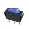 Выключатель клавишный 250В 15А (3с) ON-OFF син. с подсветкой (RWB-404 SC-791 IRS-101-1C) Rexant 36-2211