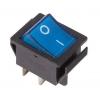 Выключатель клавишный 250В 16А (4с) ON-OFF син. с подсветкой (RWB-502 SC-767 IRS-201-1) Rexant 36-2331
