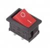 Выключатель клавишный 250В 6А (2с) ON-OFF красн. Mini (RWB-201 SC-768) Rexant 36-2111