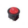 Выключатель клавишный круглый 250В 6А (2с) ON-OFF красн. (RWB-213 SC-214 MRS-102-8) Rexant 36-2560