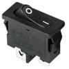 Выключатель клавишный 250В 6А (2с) ON-OFF черн. Mini (RWB-103; SC-766; MRS-101-5) Rexant 36-2050