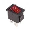 Выключатель клавишный 250В 6А (4с) ON-OFF красн. с подсветкой Mini (RWB-20; SC-768) Rexant 36-2190