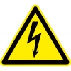 """Знак пластик """"Опасность поражения электрическим током"""" (Молния) W08 150х150мм PROxima EKF pn-1-02"""