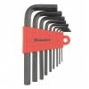 Набор ключей инбусовых короткие 9 шт CrV (2-12 мм) MATRIX