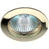 Светильник KL1 GD 50Вт MR16 12В точечный литой зол. ЭРА C0043655