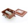 Коробка КЗНС-08 УХЛ1.5 IP65 с латунными сальниками ЗЭТАРУС zeta30314
