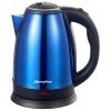 Чайник электр. МАТРЁНА MA-002, 1.8 л сталь (синий)