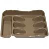 Лоток для столовых приборов 25.8х33х5.4 см (капучино) Виолет