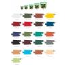 Краска резиновая SUPER DECOR Ондулин зеленая (№01) 1 кг