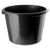 Контейнер (таз) пластиковый круглый Сибртех 40 л