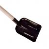 Лопата совковая с черенком с ребром