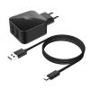 Зарядное устройство BORASCO разъем 2USB 2.1 А + кабель micro USB 1 м