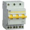 Выключатель-разъединитель трехпозиционный 3п ВРТ-63 25А IEK MPR10-3-025