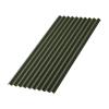 Лист Ондулин SMART 950х1950 мм (без гвоздей) зеленый