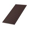 Лист Ондулин SMART 950х1950 мм (без гвоздей) коричневый