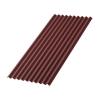 Лист Ондулин SMART 950х1950 мм (без гвоздей) красный