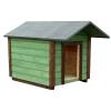 Будка для собак (крыша двухскатная)
