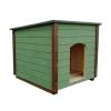 Будка для собак (крыша односкатная)