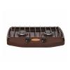 Плитка газовая 2-конфорочная Gefest ПГ 700-02 (коричневый)