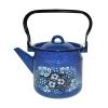 Чайник эмалированный с декором СтальЭмаль (2 л) 1С25С