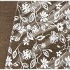 Клеенка столовая ПВХ Вилина Ажурная 132 см вьюнок 004-1